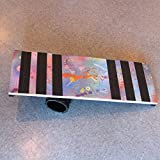 Zeekio Wild Style Rolla Bolla Balance Board - 30'' x 10'' Juggling Prop