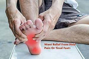 Acelec calcetines Ultimate/tobilleras para fascitis Plantar, para dolor en el talón, regalo Ideal para corredores de Running y ciclismo, escalada, etc. (2 pares de calcetines de compresión por paquete), color carne: Amazon.es: