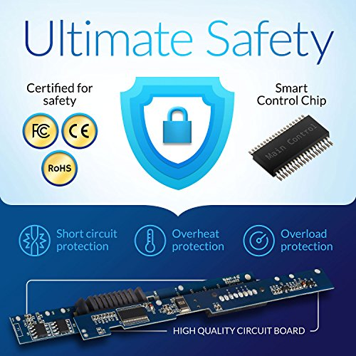 NinjaBatt Laptop Battery for HP 484172-001 485041-001 498482-001 484170-001 HSTNN-LB72 HSTNN-UB72 HSTNN-CB72 484171-001 HSTNN-Q34C – High Performance [6 Cells/4400mAh/48wh] by NinjaBatt (Image #4)