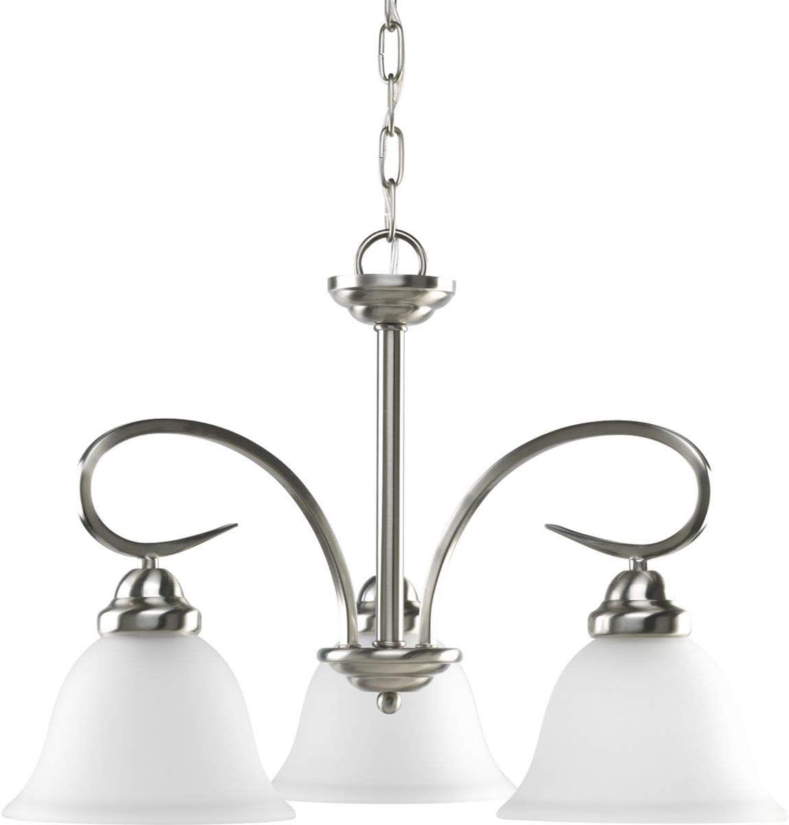 Laura Ashley Lighting PSY016 Selby 16-Inch Pendant, Satin Nickel