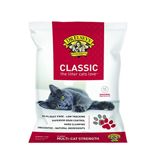 Precious Cat Classic Premium Clumping Cat Litter, 40 pound bag