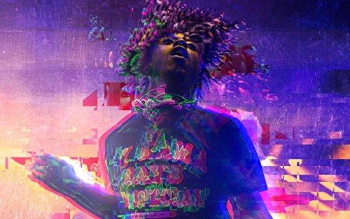 Get Motivation Lil Uzi Vert, American hip-hop artist Rapper Singer Musician 12 x 18 inch poster