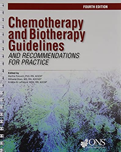 chemotherapy and biotherapy guidelines and recommendations for rh amazon com Biotherapy for Cancer Biotherapy Cancer Treatment
