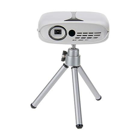 Electz Mini proyector WiFi portátil, 800 Lux Full HD 1080p ...