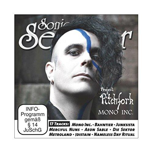 Project Pitchfork: Sonic Seducer 03-2016 mit Mono Inc. Titelstory + CD mit Song von Project Pitchfork + 16 weitere Tracks, Bands: ASP, Blutengel, Beyond The Black u.v.m. (Audio CD)