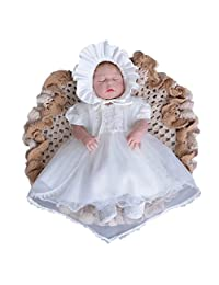 ADHS Infant Kids Baby Girl Flower Ball Gown Formal Event Floral Dresses And Hat