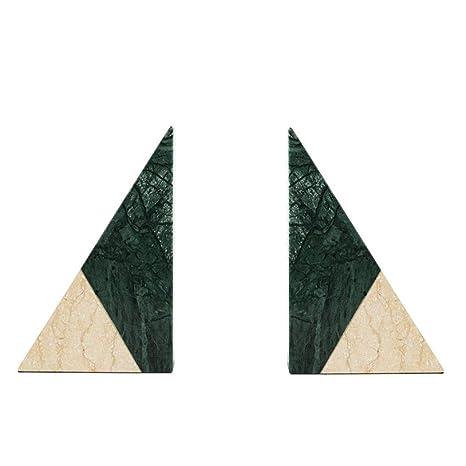 Amazon.com: HONGNA - Adorno geométrico de mármol para ...