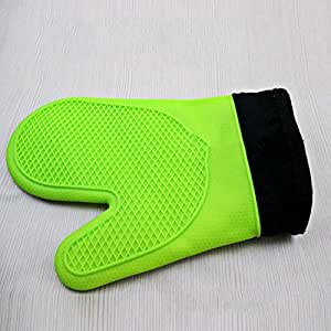 Cooking Tool Heat Protective Glove Kitchen Gloves Oven Mitts High Temperature Resistant Mitt microwave oven convenient insulated