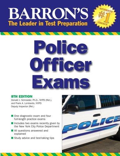 Barron's Police Officer Exam by Donald J. Schroeder Ph.D. (2009-04-01)