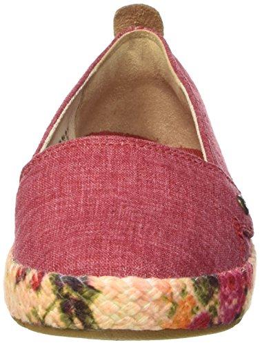 Timberland Casco Bay, Sandalias con Plataforma para Mujer Rojo - Rosso
