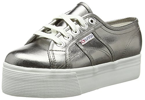 Superga Cotu Metallic Grå S006jc0980
