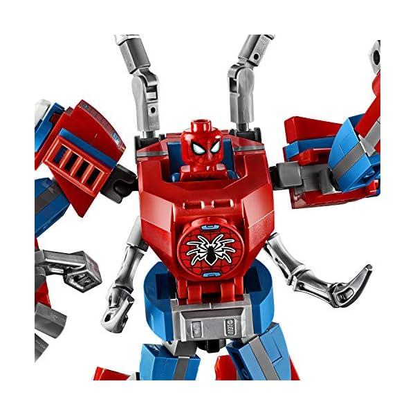 LEGO Super Heroes Il Mech di Spider-Man Set di Costruzioni per Bambini, con la Minifigure di SpiderMan e Ragnatela… 3 spesavip