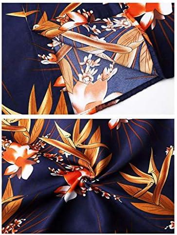 アロハシャツ 半袖シャツ ハワイ風 メンズ 夏 開襟 薄手 通気速乾 清涼感 軽量 ゆったり カジュアル おしゃれ 旅行 リゾート ビーチ 海水浴 普段着 お出かけ 大きいサイズ 花柄 ネイビー 赤 M-7XL