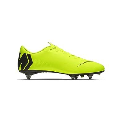 cheaper cab93 c202a Nike Vapor 12 Academy SG-Pro, Chaussures de Football Homme, Vert (Volt