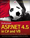 Professional ASP.NET 4. 5 in C# and VB, Evjen and Gaylord, Jason N., 1118311825