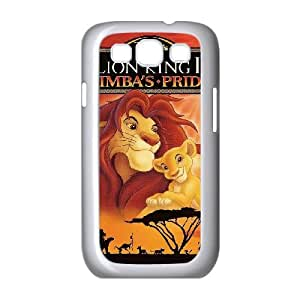 Samsung Galaxy S3 9300 Cell Phone Case White Lion King 1 12 13D Customized Case KXF