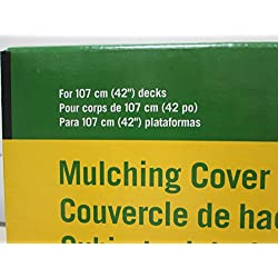 John Deere GY00115 Mulch Cover Fits 100, D, L, and