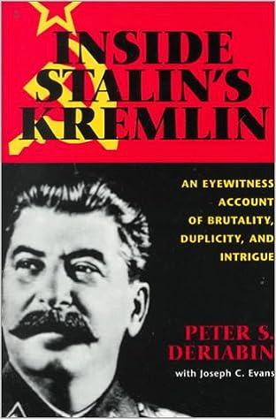 Book Inside Stalin's Kremlin