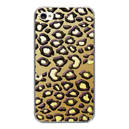 """Disagu Design Case Coque pour Apple iPhone 4 Housse etui coque pochette """"Leopard"""""""