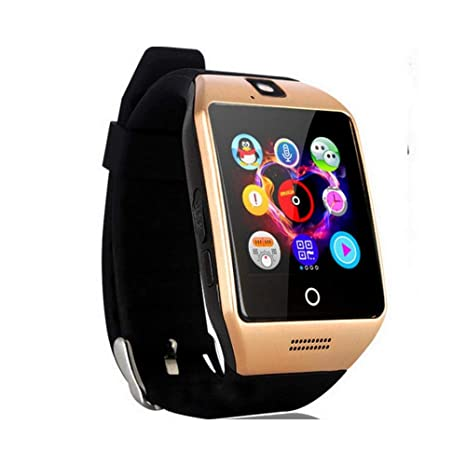 Amazon.com: Laly Love Q18 - Reloj inteligente Bluetooth con ...