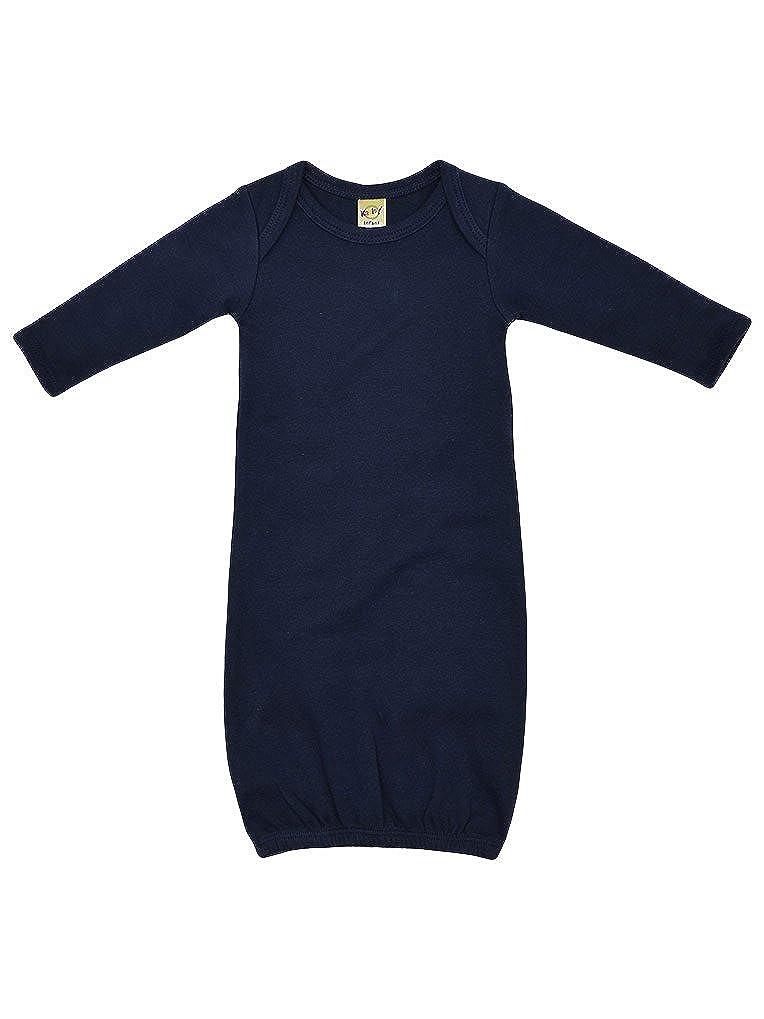 Kavio! Unisex Infants Interlock Lap Shoulder Long Sleeve Gown IIC0585