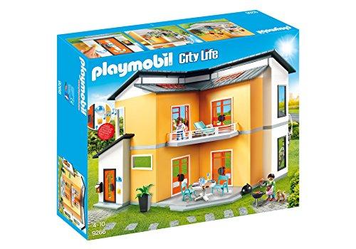 PLAYMOBIL® Modern House Building Set (Outdoor Castelli Furniture De)