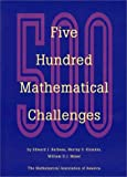 img - for Five Hundred Mathematical Challenges (Spectrum) book / textbook / text book