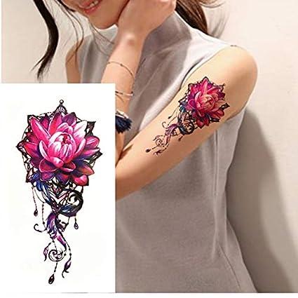 yyyDL Etiqueta engomada del tatuaje temporal Tiempo de los brazos ...