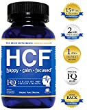HCF Brain Supplement. Helps Improve Memory. Increase Focus & Attention. Enhance Mental Clarity & Alertness. Boost Mood & Support Calm & Happy Feelings. FQ is Different. (90 Count)