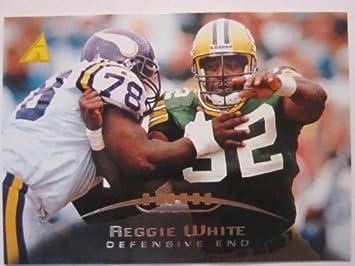 Amazon.com: 95 Pinnacle Tarjetas de fútbol Reggie tarjeta ...