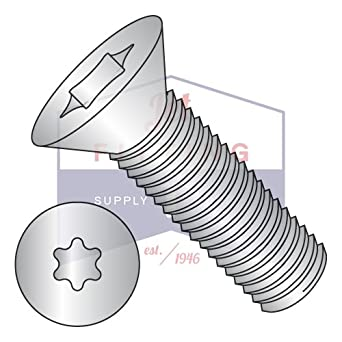Thread Size M2.5-0.45 Flat Head Screw 18-8 Stainless Steel