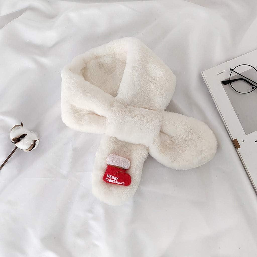 M/ädchen Steck-Schal aus Fleece TM kuschelig weicher Halsw/ärmer mit Schlaufe zum Einstecken Baby Schal M/ädchen Baby-M/ädchen Schal Halstuch Y56