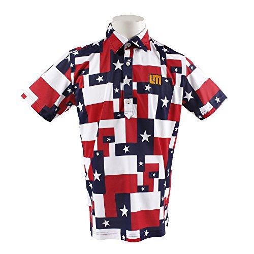ポロシャツ メンズ ラウドマウス ゴルフ LOUDMOUTH GOLF 日本正規品 日本規格 2018 春夏 ゴルフウェア M(M) ローンスター(115) 768-601