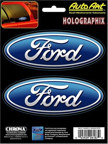 Chroma 6187 Ford Holographic Decal (Ford Decal)