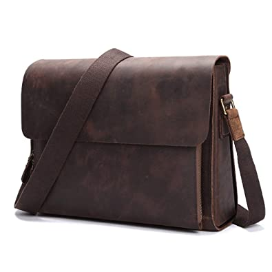 242227ff839277 ショルダーバッグ 本革 メンズ A4 アンティーク 肩掛け鞄 牛革 通勤鞄 レザー 斜め掛けバッグ