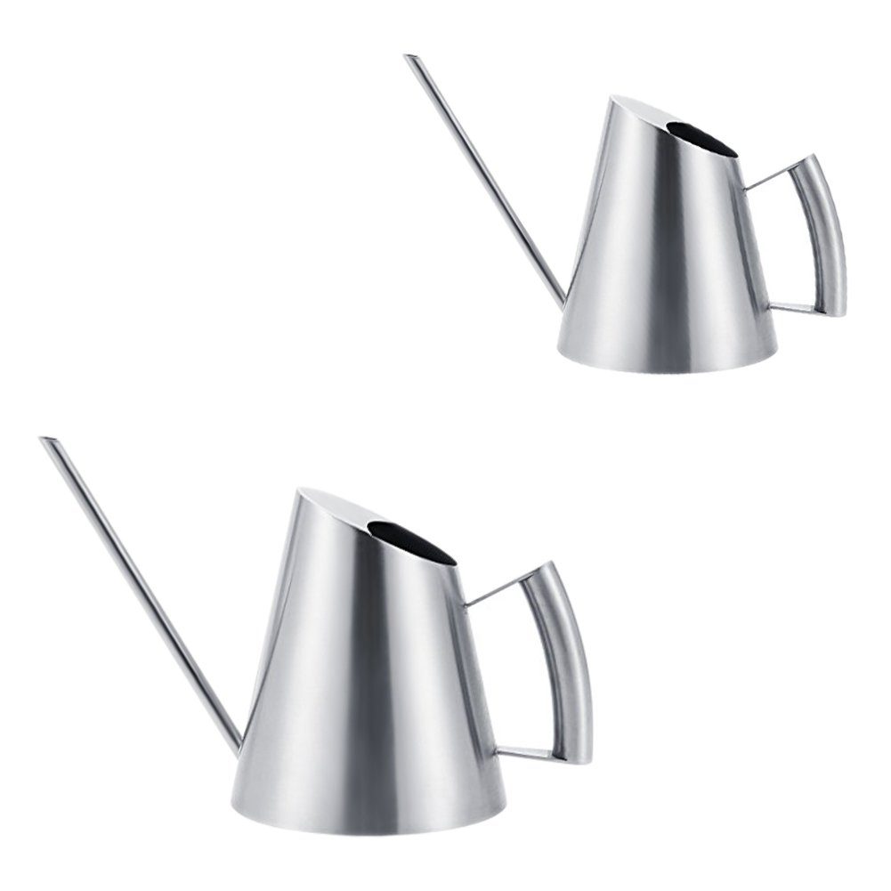 900ML Stainless Steel Watering Can Modern Style with Long Spout Watering Pot Sprinkler tebisi