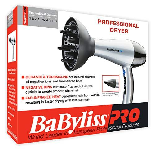BaBylissPRO TT Tourmaline and Ceramic Hairdryer