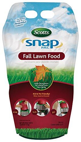 Scotts Company 21281 Snap Pac Fall Lawn Food