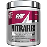 GAT Sport, NITRAFLEX Testosterone Boosting Powder, Increases Blood Flow, Boosts Strength and Energy, Improves...
