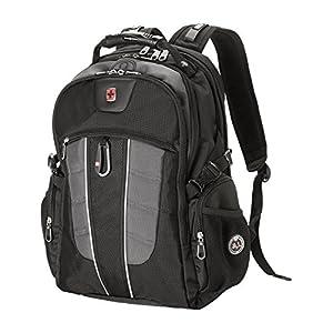 SwissGear Backpack Laptop Travel Backpack ScanSmart (Black/Grey, Model SA1753)