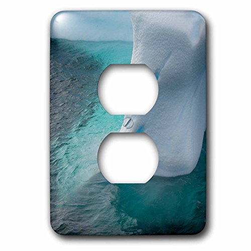 Argentine Island Light - Danita Delimont - Icebergs - Antarctica. Argentine Islands. Unusually shaped iceberg. - Light Switch Covers - 2 plug outlet cover (lsp_225190_6)