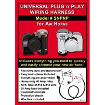 Universal Plug-n-Play Wiring Harness for Motorcycle Air Horns