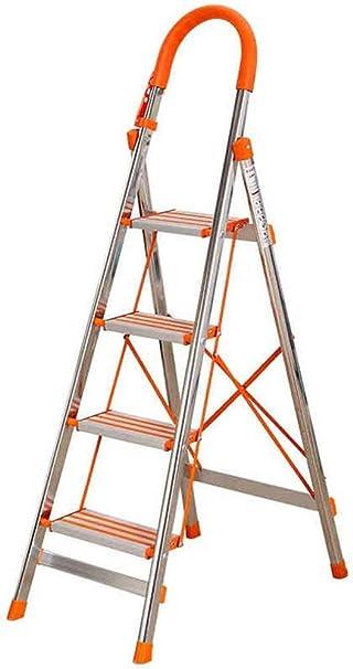 TZ Escalera de 4 peldaños con manijas, Escalera de servicio pesado ...