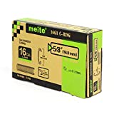 meite SC760 16 Gauge C Ring Staples By SC760B C Ring Gun Tools Inside Diameter Of 3.2-4.8mm, 18,000 PCS/BOX (2 Boxes/Pack)