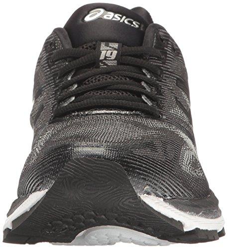 Nimbus Mujer 19 de Negro Running Zapatillas Asics para Ónice Gel Plateado gwTqW5UncA