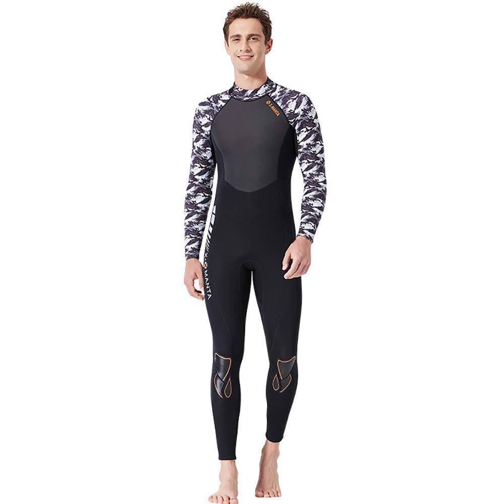 Hommesnoir XL Mhcyy0011 Body Dive Wet Suit, Combinaisons de Plongée, Pour la Natation Surf Snorkeling Water maillot de bain un été Cool, MHC, Hommesnoir, XXL