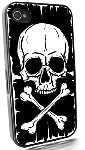 Pirate Flag Black I-Phone 6 plus 5.5 & 6 plus 5.5S Case from Redeye Laserworks I-Phone Cases