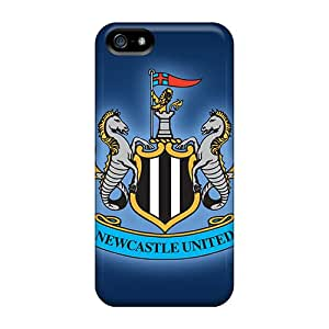 JamieBratt Iphone 5/5s Shock Absorbent Hard Phone Cover Support Personal Customs Colorful Newcastle United Pictures [LBX786Zqcj]