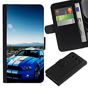 All Phone Most Case / Oferta Especial Cáscara Funda de cuero Monedero Cubierta de proteccion Caso / Wallet Case for Samsung Galaxy S3 III I9300 // Shelby GT500 500