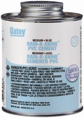oatey-30890tv-pvc-rain-r-shine-medium-bodied-cement-4-oz-can-blue-case-of-24